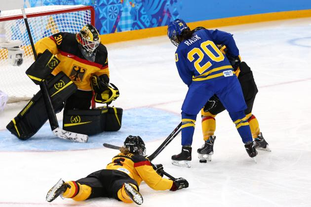Germany vs. Sweden Women's Hockey: Score and Recap from 2014 Winter Olympics