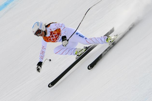 Julia Mancuso Fails to Medal in Women's Downhill Final at Sochi 2014