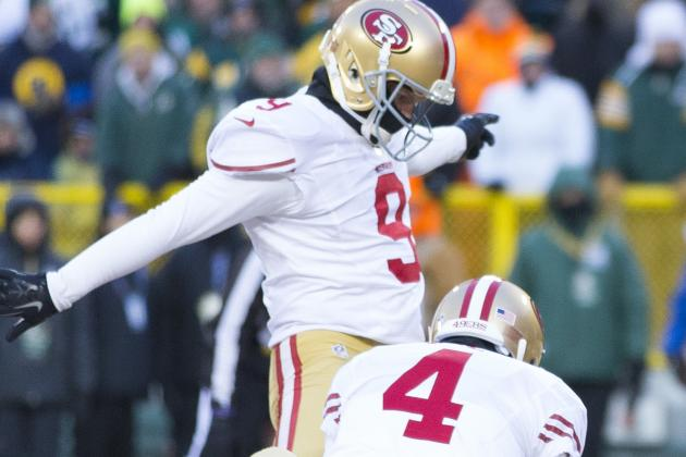 Franchise Tag Isn't a Viable Option for 49ers to Keep Phil Dawson