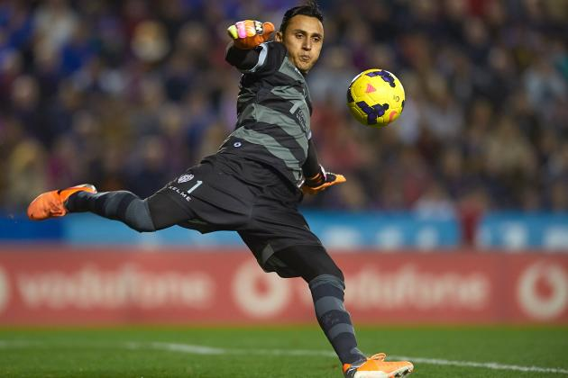Scouting Report: Is Levante's Keylor Navas the Best Goalkeeper in Europe?