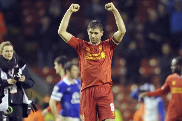 Steven Gerrard Key for Liverpool's Plan to Attack Top Four and Title Chase