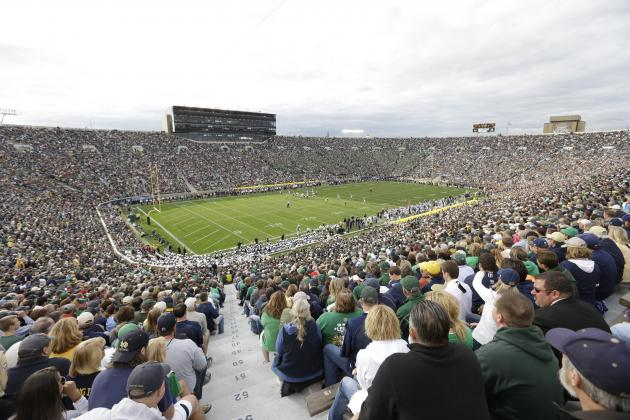 College Football Attendance in 2013 Season Sets New Record with over 50 Million