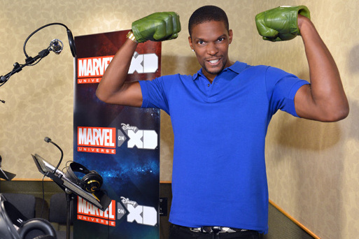 Miami Heat Star Chris Bosh Takes His Talents to Asgard