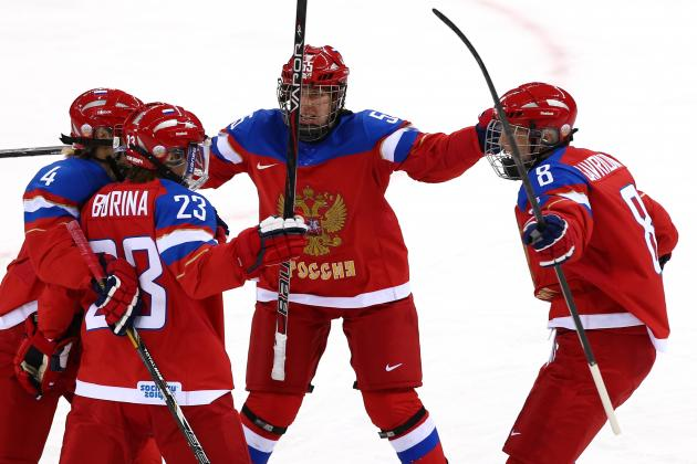 Russia vs. Japan Women's Hockey: Score and Recap from 2014 Winter Olympics