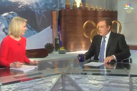 Al Michaels Makes Up Curling Betting Line, Places Wager On Air