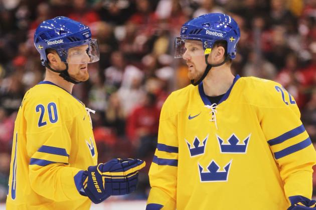 Daniel Sedin Adjusting as He Goes Solo for Sweden in Sochi Olympics