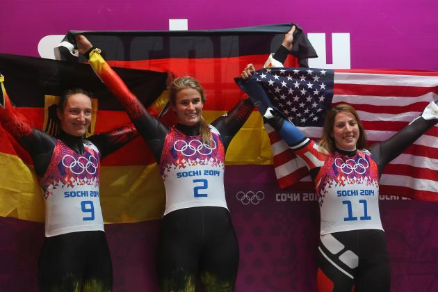Luge Medal Results and Times from Olympics 2014 Women's Singles