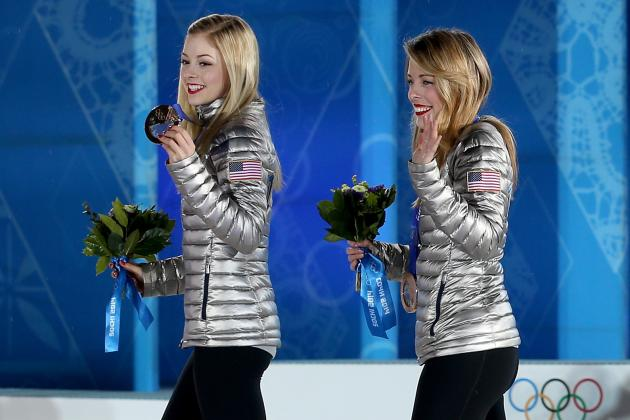 Gracie Gold and Ashley Wagner Quickly Becoming Olympic All-Stars for Team USA