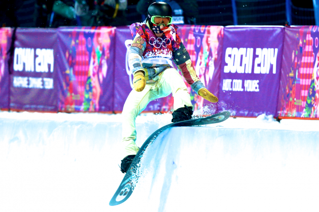 Shaun White Fails to Medal in Men's Halfpipe at Sochi 2014 Olympics