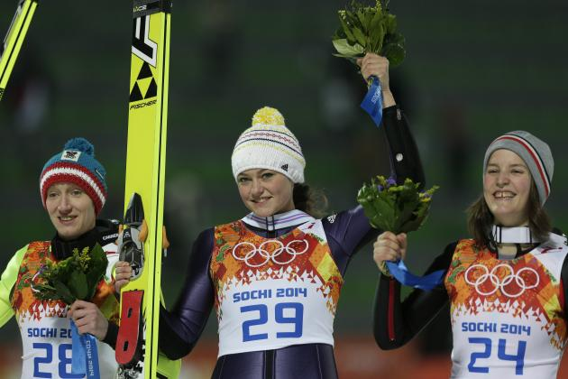Olympic Ski Jumping 2014: Live Results and Highlights of Women's Competition