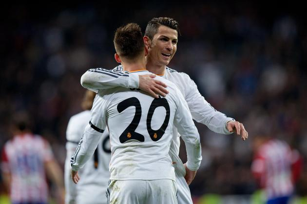Atletico Madrid vs. Real Madrid: Live Player Ratings for Los Blancos