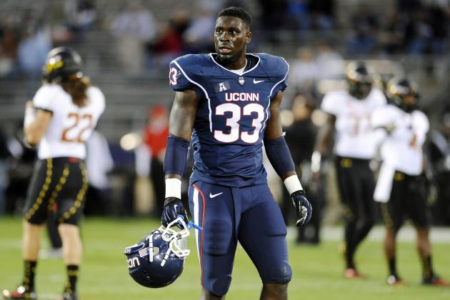 Yawin Smallwood NFL Draft 2014: Highlights, Scouting Report for Falcons ILB