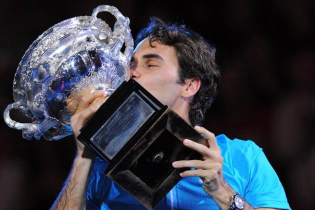 Roger Federer:  My Grand Slam Medicine Man