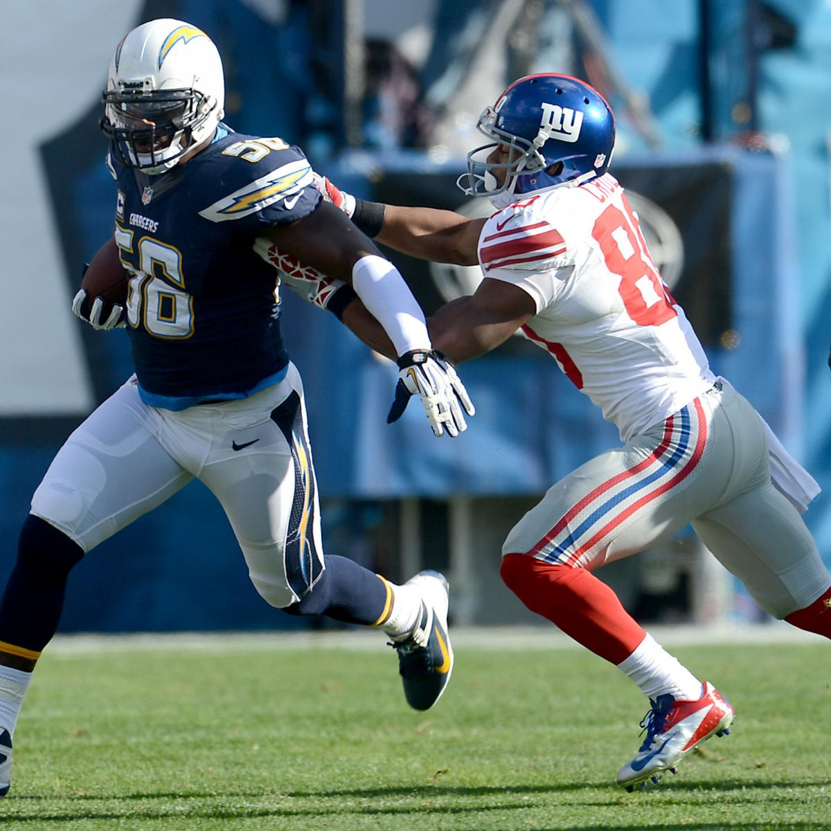 San Diego Chargers Cap Space: Setting Odds For San Diego Chargers Signing Their Top 6