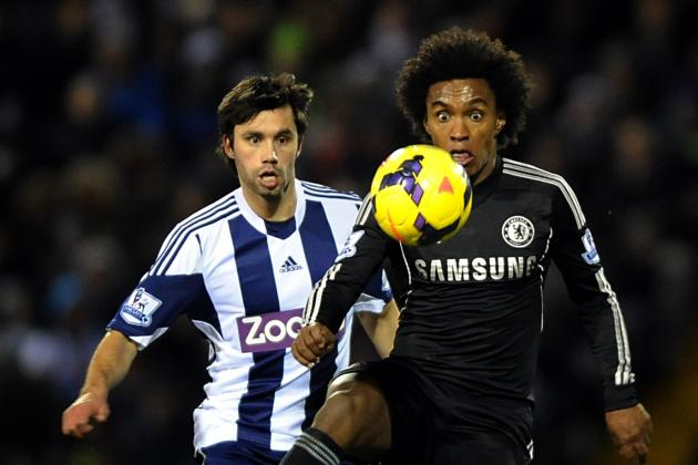 West Bromwich Albion vs. Chelsea: Live Player Ratings