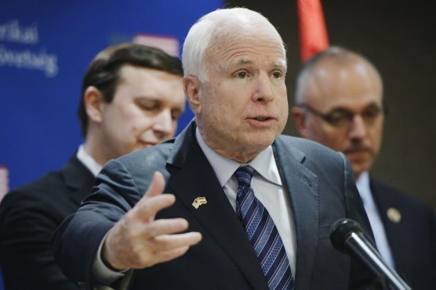 Senator John McCain Says He