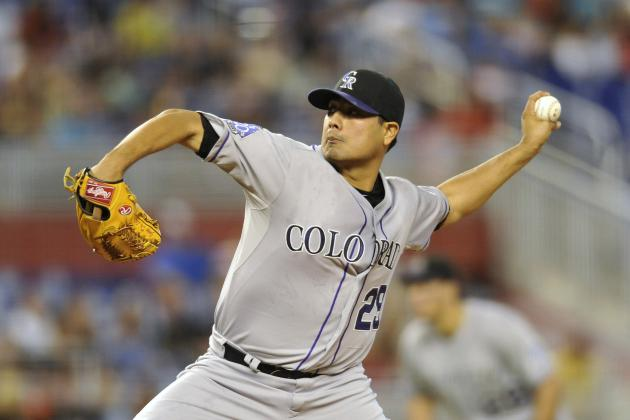 Rockies' Jorge De La Rosa Wants to Be
