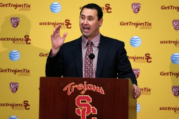USC Football: What Trojans Should Expect from Steve Sarkisian in Spring Practice
