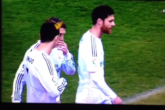 Cristiano Ronaldo Hit in the Head with a Lighter Thrown from Stands