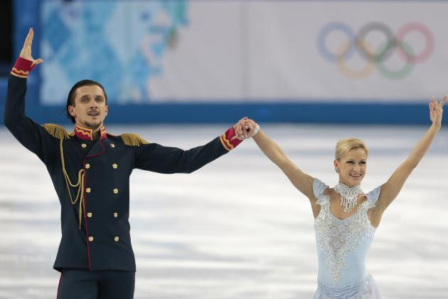 Tatiana Volosozhar and Maxim Trankov Locked in for Pairs Figure Skating Gold