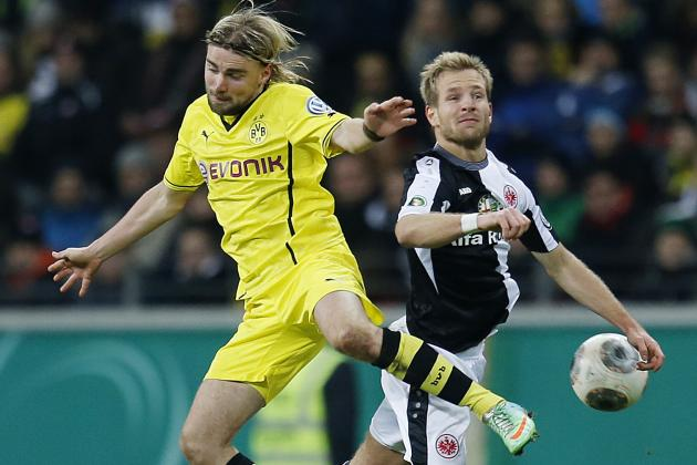 Frankfurt Struggle Proves Dortmund Can Win the DFB-Pokal Final