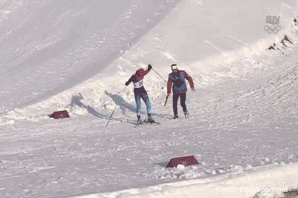 Canadian Coach Helps Russian Skier Finish Heat by Giving Him Ski