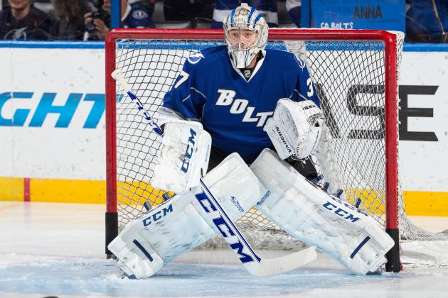 Lightning Prospect Gudlevskis Could Start in Goal for Latvia