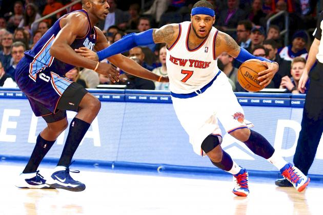 Knicks Wasting Best Version of Carmelo Anthony New York Has Ever Had