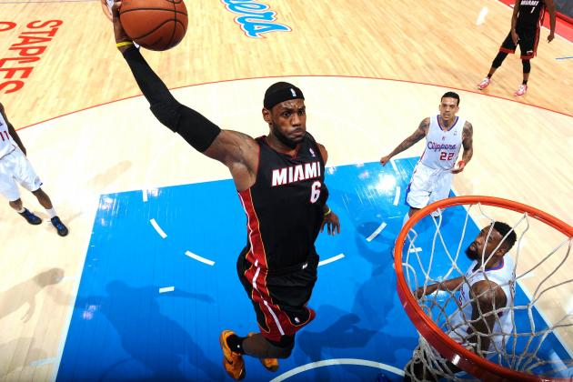 LeBron James Says He's Still 'Not a Dunk Contest Guy'