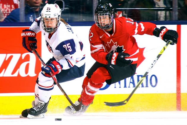 Why USA vs. Canada Women's Hockey Is the Best Rivalry You've Never Heard of