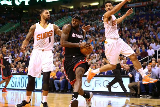 Miami Heat vs. Phoenix Suns: Live Score and Analysis
