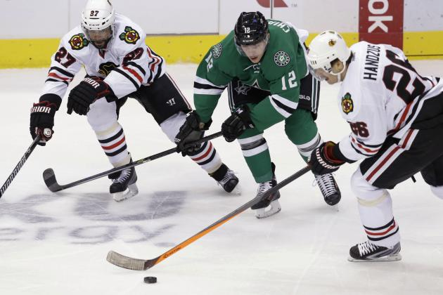 Why Michal Handzus' Role for Chicago Blackhawks Should Be Adjusted