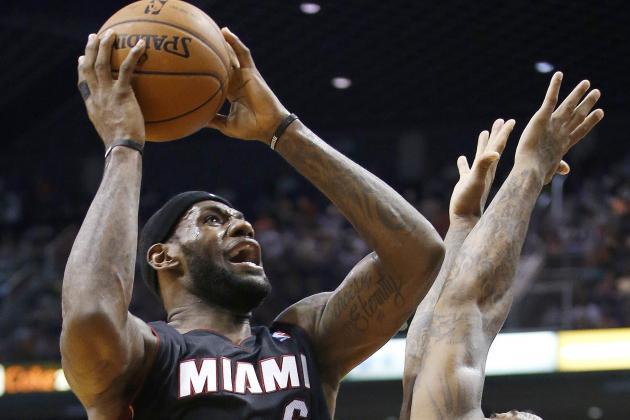 LeBron James Throws Down Insane Windmill Dunk vs. Suns