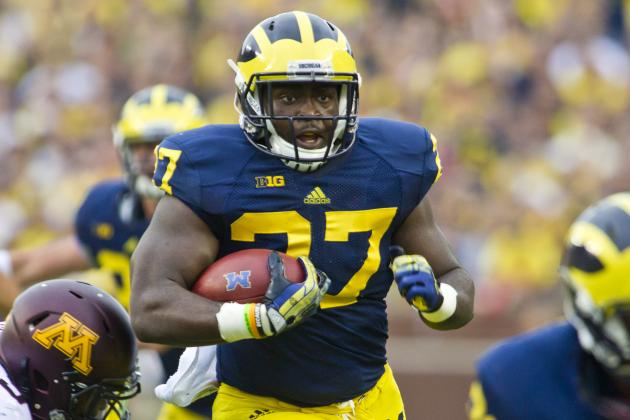 Michigan Football: Why Doug Nussmeier Wants Derrick Green to Be Starting RB