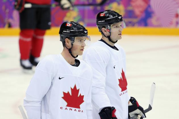 Will Playing on a Loaded Canadian Olympic Hockey Team Give Rick Nash a Spark?