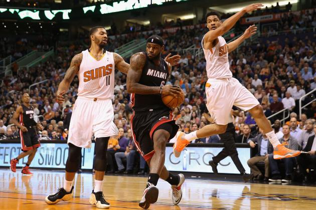 Best Tweets from Phoenix Suns' Battle with Miami Heat