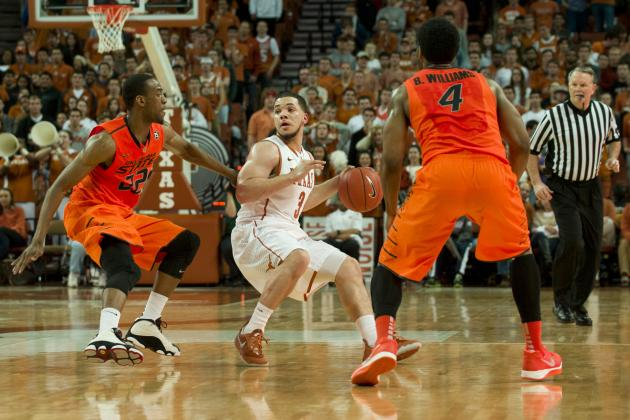 Javan Felix Leads No 19 Texas to an Easy Win over Oklahoma State