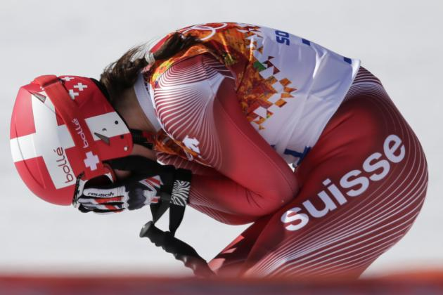 Olympic Women's Downhill Results 2014: Alpine Skiing Medal Winners and Times