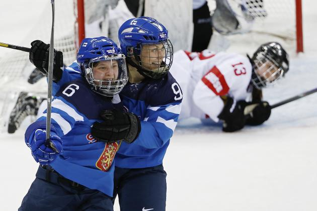 Switzerland vs. Finland Women's Hockey: Score, Recap from 2014 Winter Olympics