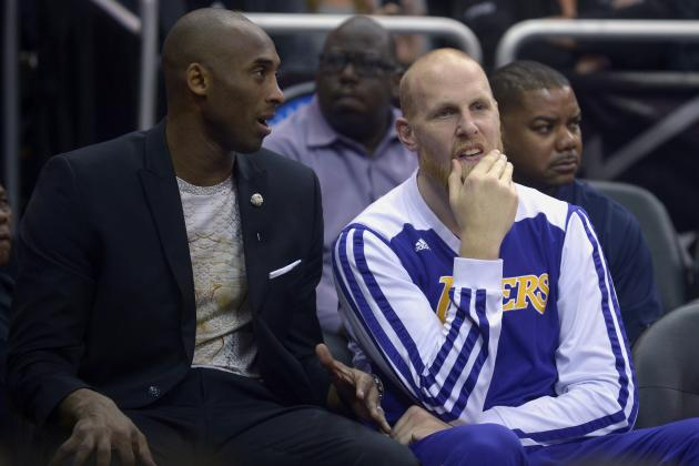 Chris Kaman: Lakers 'Aren't Trying to Chase Picks'