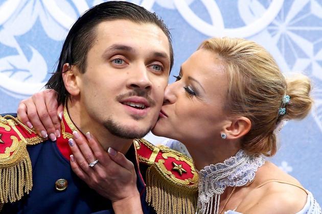 Tatiana Volosozhar and Maxim Trankov Locked in for Pairs Figure Skating Gold