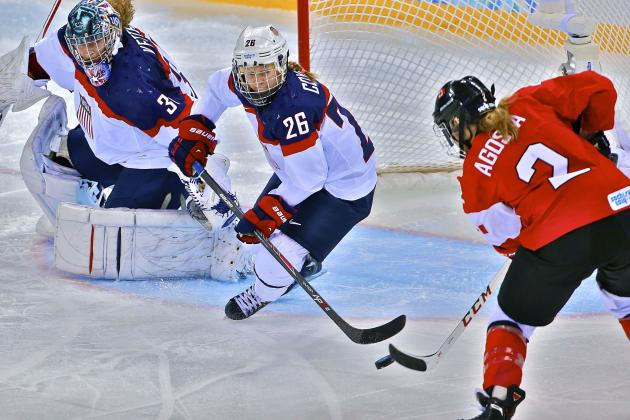USA vs. Canada Women's Olympic Hockey 2014: Live Score and Analysis