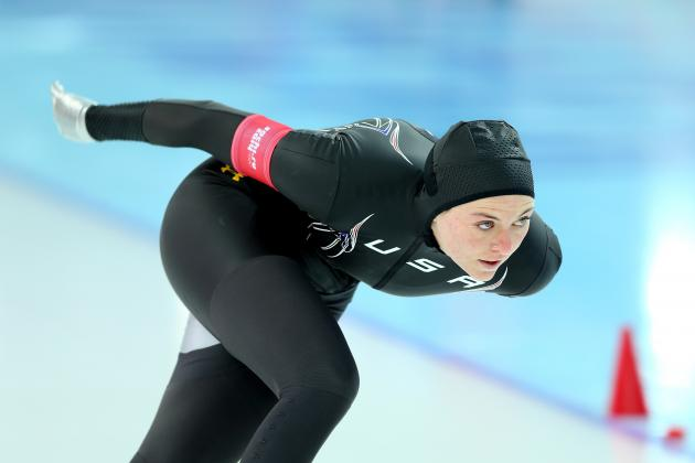 Heather Richardson Fails to Medal in Women's 1000-Meter Final at Sochi Olympics