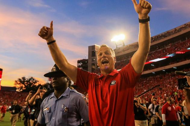 Georgia Football: Mark Richt Making All the Right Coaching Moves