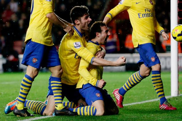 Olivier Giroud as Good as Luis Suarez and Robin Van Persie, Says Santi Cazorla