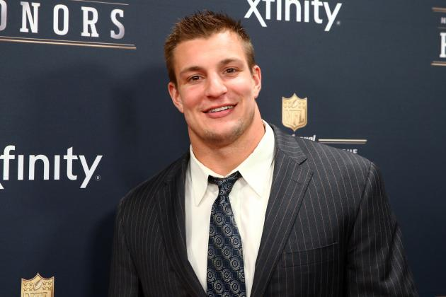 Rob Gronkowski Parties in Fort Myers Before Red Sox Spring Training (Photo)