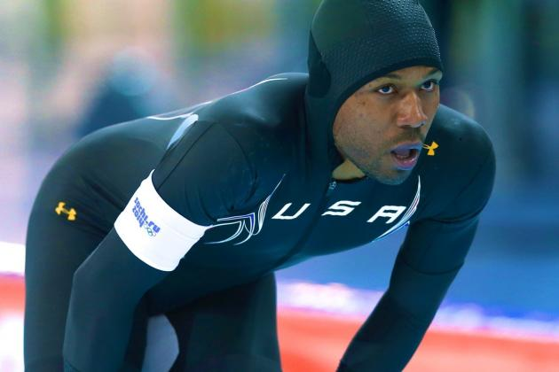 Shani Davis Fails to Medal in Men's 1000-Meter Final at Sochi 2014 Olympics