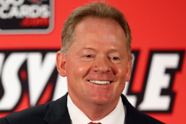 Bobby Petrino's Spring Football To-Do List for Louisville