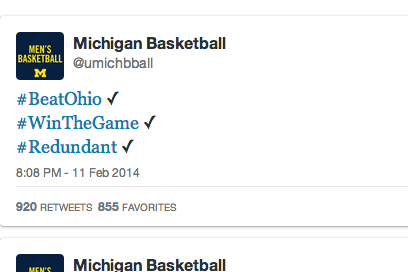 Michigan Basketball Trolls Ohio State's Student Body on Twitter