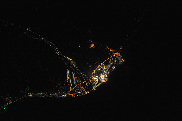 Olympic Flame in Sochi Can Be Seen from Space